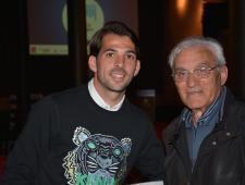 Victor Sánchez i el Molt Honorable Senador en Cap Sr. Andrés Carbonell
