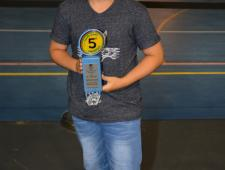 Xavier Alvarez-Builla - Guardonat a la Nit de l'Esport 2016 - PBB Blanes
