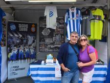 El matrimoni González, socis del RCD Espanyol i de la Penya