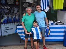 Tres generacions de Pericos, Antonio, Alberto i Hugo