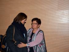 Núria Araquistain i Araceli Pérez