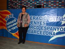 La Presidenta de la FCP Araceli Pérez